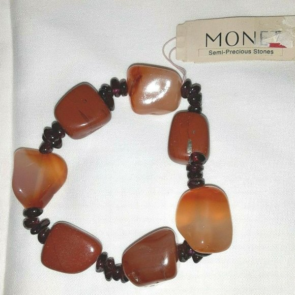 4 for $15 ~ Monet Semi Precious Bracelet (PB)